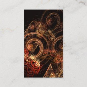 the sound of music abstract art business card