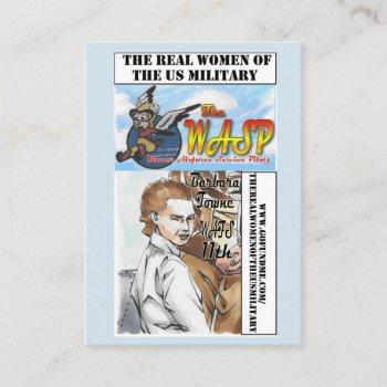 the wasp barbara towne trading card