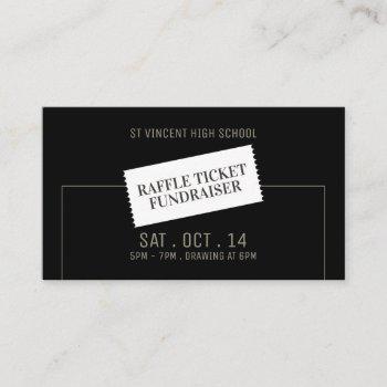 ticket design, raffle ticket fundraiser event