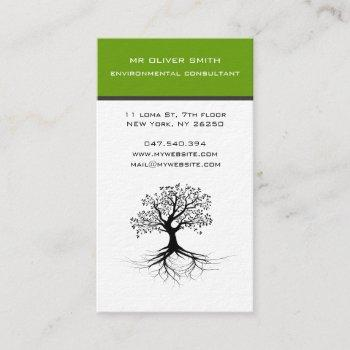 tree and environment business card
