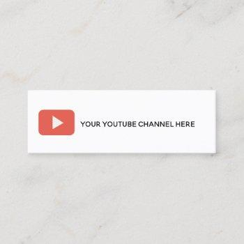 trendy social media business card