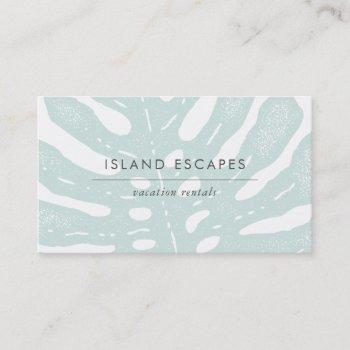 tropic botanicals business card