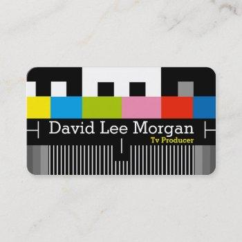 tv film producer video business card