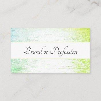 unique trend design pastel ocean sunset mirroring business card