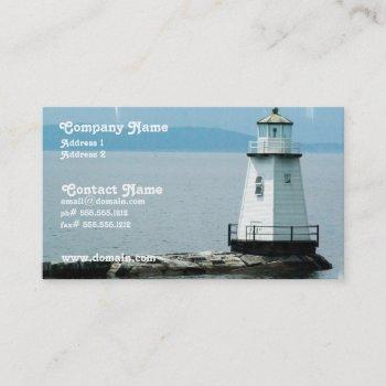 unusual lighthouse busness card