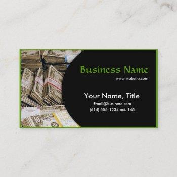 us money bundles business card