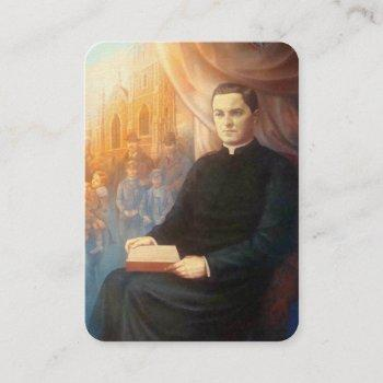 ven. michael mcgivney holy name society holy card