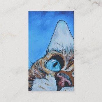 veterinarian or animal business card