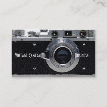 vintage camera collection 01 business card 2