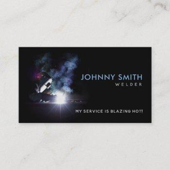 welder slogans business cards