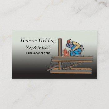 welding business card