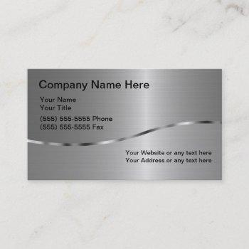 welding business double sided business card