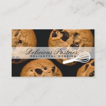 whisk | pastry chef | cookies business card