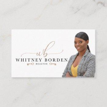 whitney borden business card
