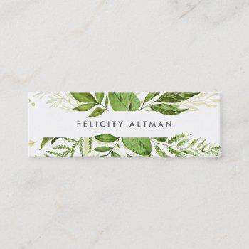 wild meadow business cards | mini