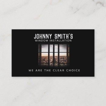 windows slogans business cards