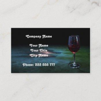 wine trade 5. business card