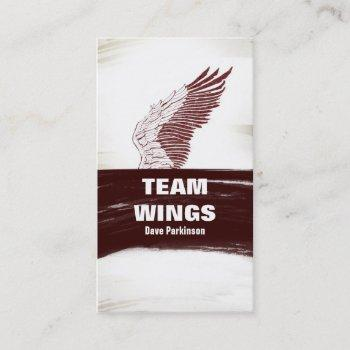wing business card
