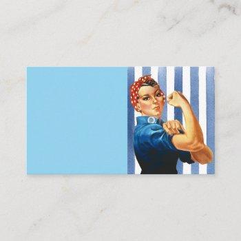 women power business card