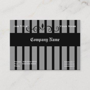 wrought iron fence business cards